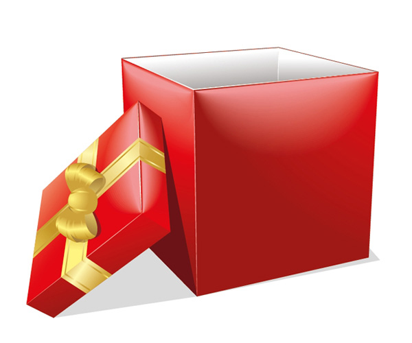 Коробка для подарков png