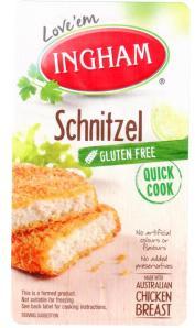 GF Inghams Chicken Snitzchel