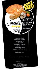 GF Garlic Bread