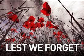 lest we forget