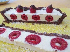 Rasp Choc Cheesecake (1)