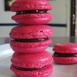 Rasp Choc Macarons (2)