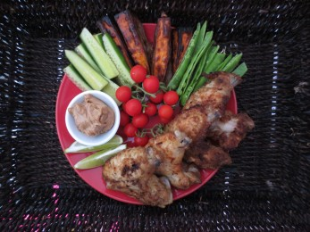 Satay Wings (2)